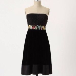 Anthropologie Floreat Enchanted Evening Dress